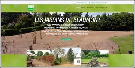 Rixnet exemple de sites for Entretien jardin waterloo